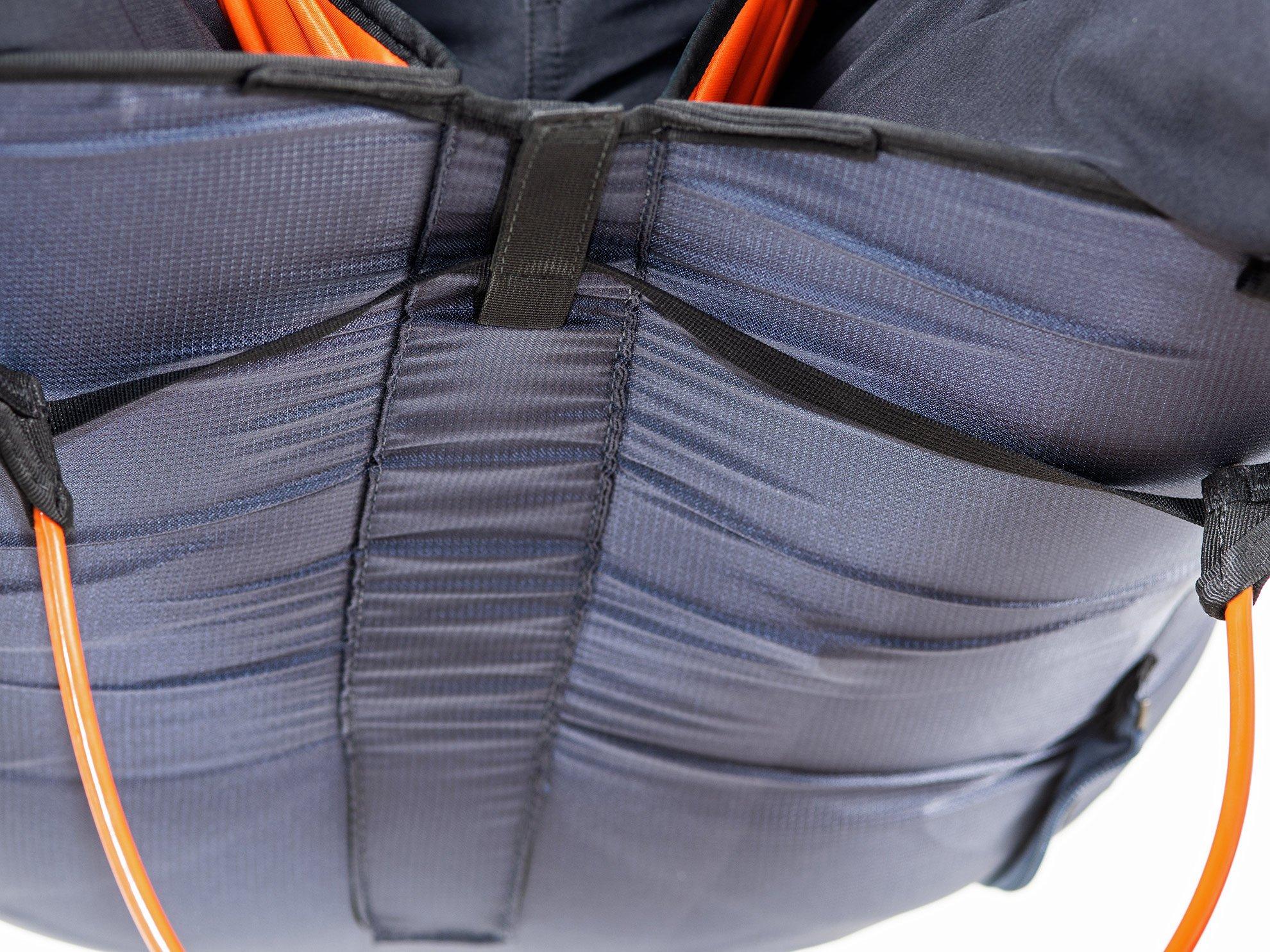 Gurtzeug Check Sitzbrett / Fussbrett Beinsack